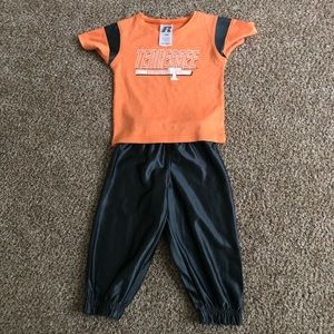 Tennessee Volunteers toddler outfit